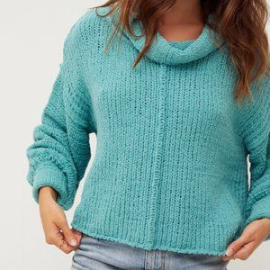 Free People Be Yours Pullover Sweater size XSMALL